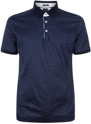 BOSS Striped Polo Shirt