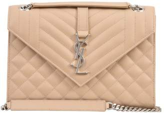 Saint Laurent Envelope Bag Nude