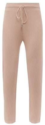 Max Mara Leisure - Bric Track Pants - Womens - Light Pink
