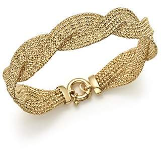 Bloomingdale's 14K Yellow Gold Braided Mesh Bracelet - 100% Exclusive