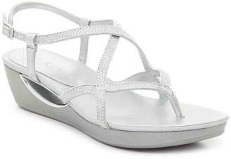 Andrew Geller Cecil Wedge Sandal - Women's
