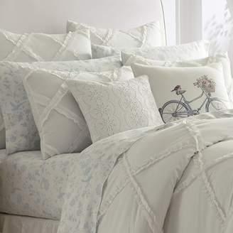 Laura Ashley Adelina Ruffle Cotton Comforter Set by Home