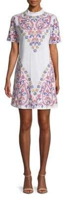 Kas Embroidered Tee Dress