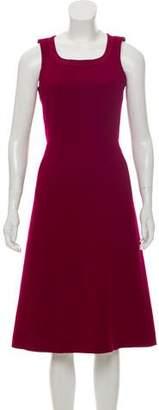 Louis Vuitton Sleeveless Wool Dress