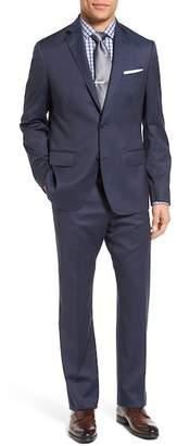 John W. Nordstrom Italian Classic Fit Tic Weave Wool Suit