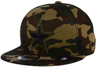 New Era Dallas Cowboys Camo on Canvas 9FIFTY Snapback Cap