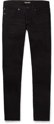 Tom Ford Slim-Fit Denim Jeans - Men - Black