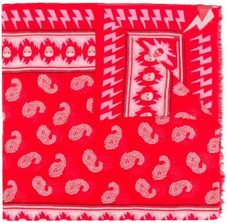 Zadig & Voltaire Zadig&Voltaire Bindi paisley print scarf