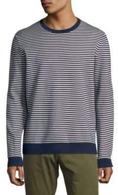 Saks Fifth Avenue Striped Crewneck Sweater