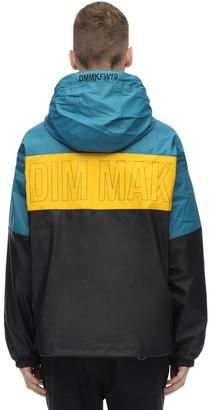 Dim Mak Collection Color Block Rubberized Rain Jacket