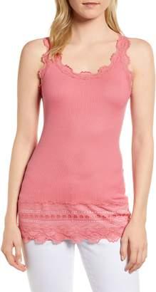 Rosemunde Silk & Cotton Rib Knit Tank