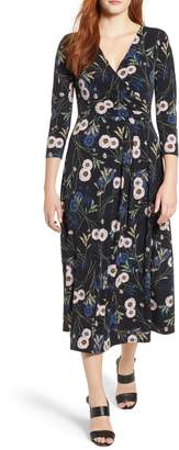 Chaus Zinnia Garden Midi Dress