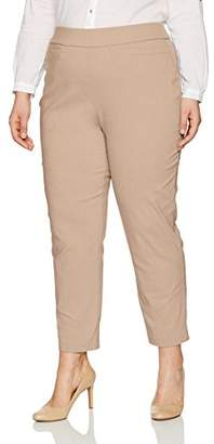 Alfred Dunner Women's Petite Proportioned Short Allure Slim Pant