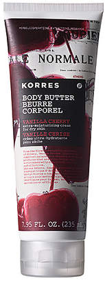 Korres Vanilla Cherry Body Butter.