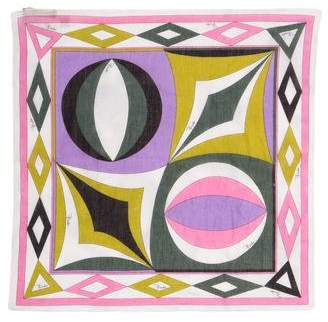Emilio Pucci Woven Printed Scarf