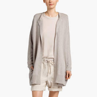 James Perse COTTON CREPE CARDIGAN