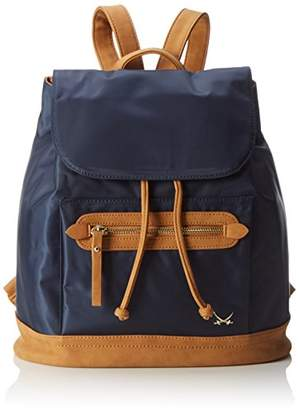 Sansibar Womens Backpack Handbags Blue Size: