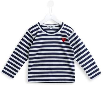 Comme des Garcons Kids play printed T-shirt
