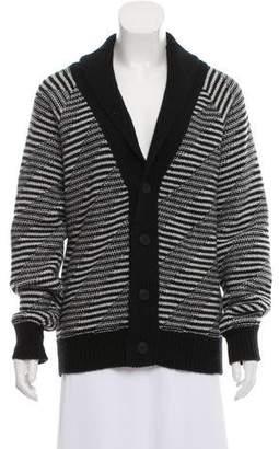 Tomas Maier Striped Wool Cardigan