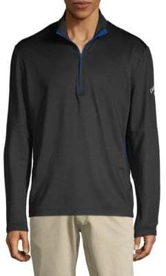 Callaway Stand Collar Long-Sleeve Top