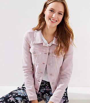 8f0e8edef61b9 Denim Soft Jacket Women - ShopStyle