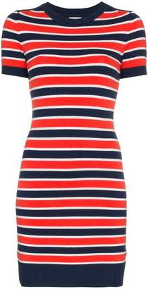 DAY Birger et Mikkelsen JoosTricot marine stripe short sleeve dress
