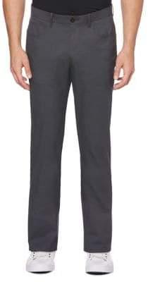 Perry Ellis Slim-Fit Mini Patterned Pants