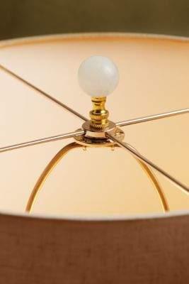 Soft Surroundings Rock Crystal Ball Lamp Finial