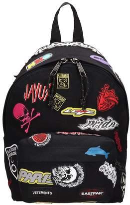 Vetements Mini Black Fabric Backpack