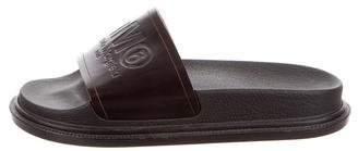 MM6 MAISON MARGIELA Logo Slide Sandals