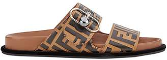Fendi FF double strap sandals