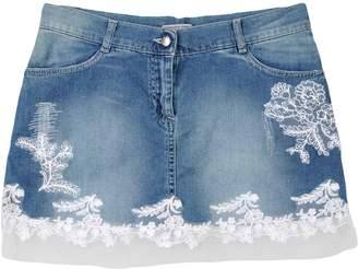 Ermanno Scervino Denim skirts - Item 42642352DW