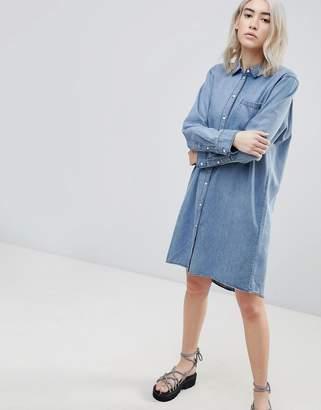 Cheap Monday Anti Denim Shirt Dress