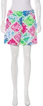 Lilly Pulitzer Printed Mini Shorts