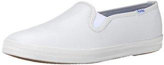 Keds Women's Champion Original Leather Slip-On Sneaker,White,9 N US $50 thestylecure.com