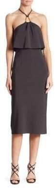 Trina Turk Soozy Popover Neoprene Halter Dress