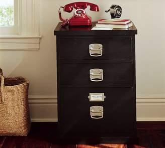 Pottery Barn Bedford 3-Drawer File Cabinet, Black