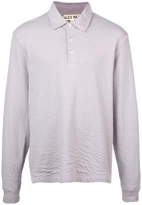 Alex Mill textured polo shirt