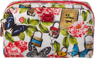 Dolce & Gabbana Printed Cosmetic Pouch