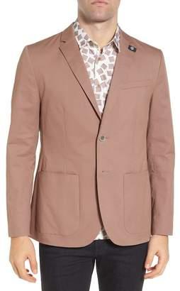 Ted Baker Cliford Trim Fit Stretch Cotton Blazer