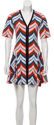 Kenzo Printed Short Sleeve Dress