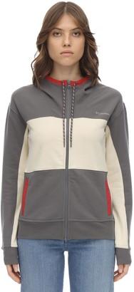 Columbia Lodge Zip-up Stretch Cotton Sweatshirt