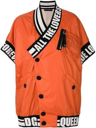 Dolce & Gabbana wrap jacket