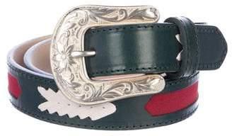 Isabel Marant Leather Waist Belt