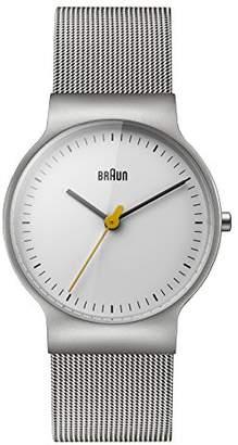 Braun Women's BN0211WHSLMHL Classic Slim Analog Display Japanese Quartz Watch
