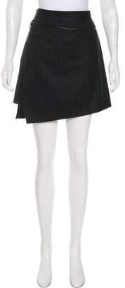 Salvatore Ferragamo Wool Pinstripe Skirt w/ Tags