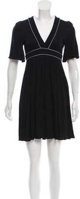 Gucci Short Sleeve Mini Dress