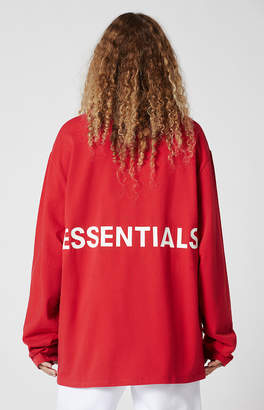 FOG - Fear Of God Essentials Boxy Graphic Long Sleeve T-Shirt