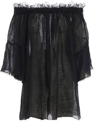 Ermanno Scervino Off Shoulder Dress