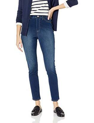 Bandolino Women's Bella Faux 5 Pocket All Day Comfort Knit Denim Legging